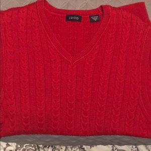 Men's Izod sweater vest